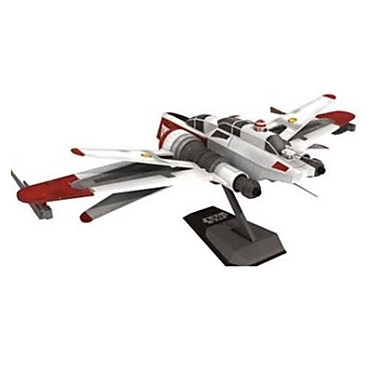3D - Puzzle Papiermodel Spielzeuge Quadratisch Flugzeug Schiff 3D Heimwerken Hartkartonpapier keine Angaben Stücke