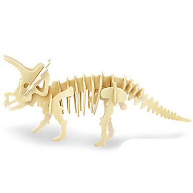 3D-puzzels Legpuzzel Hout Model Speeltjes Dinosaurus Dier 3D Insect Dieren DHZ Hout Niet gespecificeerd Stuks