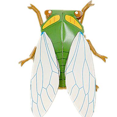 قطع تركيب3D نموذج الورق مجموعات البناء أشغال الورق ألعاب مربع 3D حشرة اصنع بنفسك محاكاة ورق صلب للجنسين قطع