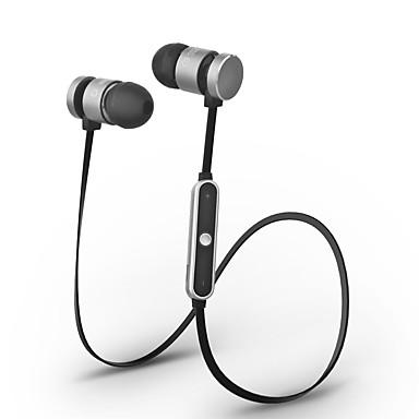 Cwxuan® magnetische adsorptie bluetooth draadloze sportmetaal in-oort oortelefoon met mic / volumeregeling