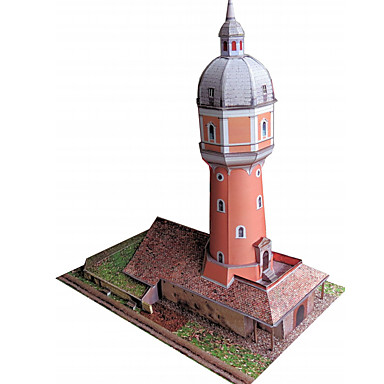 Puzzle 3D Modelul de hârtie Μοντέλα και κιτ δόμησης Lucru Manual Din Hârtie Jucarii Turn Clădire celebru Arhitectură 3D Reparații Unisex