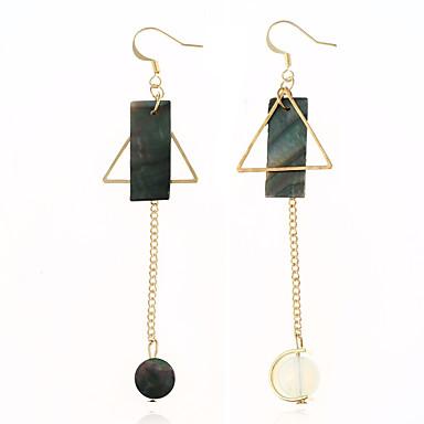 Damen Tropfen-Ohrringe - Anhänger Stil Gold Kreisförmig Irregulär Ohrringe Für Alltagskleidung Normal Bühne
