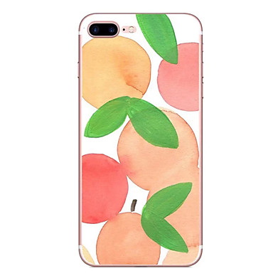 hoesje Voor Apple Patroon Achterkantje Fruit Zacht TPU voor iPhone 7 Plus iPhone 7 iPhone 6s Plus iPhone 6 Plus iPhone 6s Iphone 6