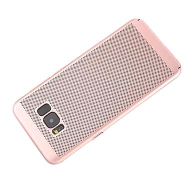 Недорогие Чехлы и кейсы для Galaxy S6 Edge-Кейс для Назначение SSamsung Galaxy S8 Plus / S8 / S7 edge Матовое Кейс на заднюю панель Однотонный Твердый ПК