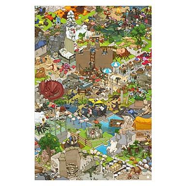 Speelgoedauto's Legpuzzel Speeltjes Huis Paard Hout Unisex Stuks