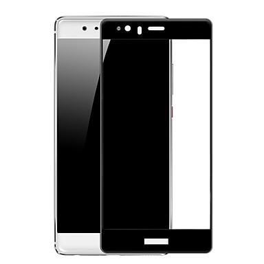 حامي الشاشة إلى Huawei P9 زجاج مقسي 1 قطعة حامي شاشة أمامي 2.5Dحافة منعظفة انفجار برهان نحيل جداً مقاومة الحك ضد البصمات (HD) دقة عالية