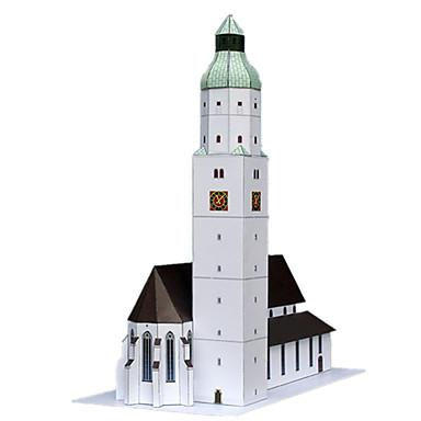 3D-puzzels Papierkunst Toren Beroemd gebouw Architectuur Simulatie DHZ Klassiek Unisex Geschenk