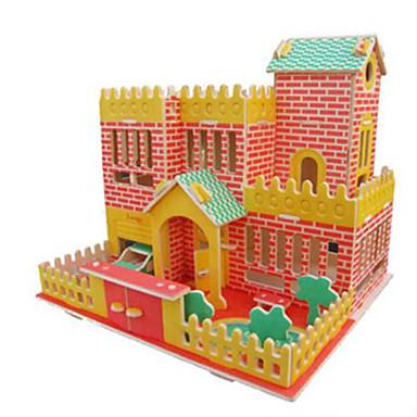 3D-puzzels Legpuzzel Speeltjes Beroemd gebouw Architectuur Overige 3D DHZ Hout Natuurlijk Hout Niet gespecificeerd Stuks