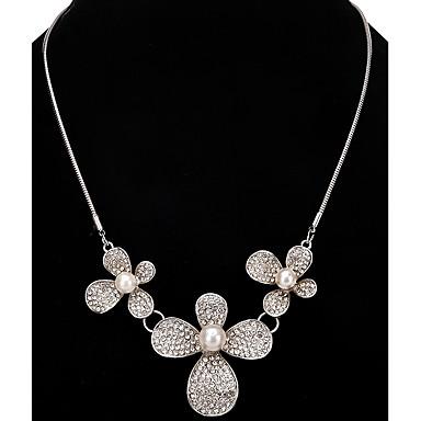 Dames Bloem Gepersonaliseerde Luxe Uniek ontwerp Hangende stijl Klassiek Bohémien Sexy Bergkristallen Vriendschap Opvallende sieraden USA