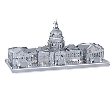 Spielzeug-Autos 3D - Puzzle Holzpuzzle Metallpuzzle Rechteckig Panzer Burg Berühmte Gebäude Architektur 3D Aluminium Metal Kinder Teen