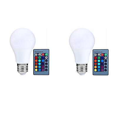 10W 800 lm E27 مصابيح صغيرة LED A70 25 الأضواء مصلحة الارصاد الجوية 5050 جهاز استشعار الأشعة تحت الحمراء الاستشعار تخفيت جهاز تحكم ديكور
