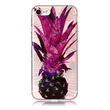 Hülle Für Apple iPhone 7 Plus iPhone 7 IMD Muster Rückseite Frucht Glänzender Schein Weich TPU für iPhone 7 Plus iPhone 7 iPhone 6s Plus