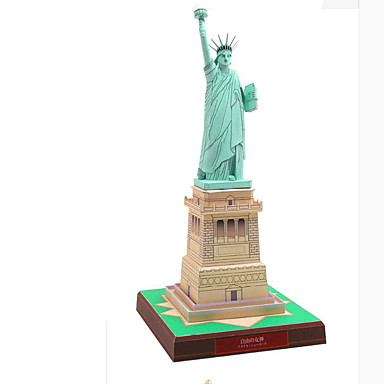 Puzzle 3D Modelul de hârtie Jucarii Pătrat Clădire celebru Arhitectură Reparații Hârtie Rigidă pentru Felicitări Ne Specificat Bucăți