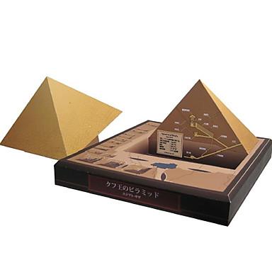 3D - Puzzle Papiermodel Quadratisch Turm Berühmte Gebäude Architektur Heimwerken Hartkartonpapier Kinder Jungen Unisex Geschenk