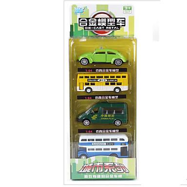 Speelgoedauto's Speeltjes Motorfietsen Speeltjes Rechthoekig Bus Metaallegering Rauta Stuks Unisex Geschenk