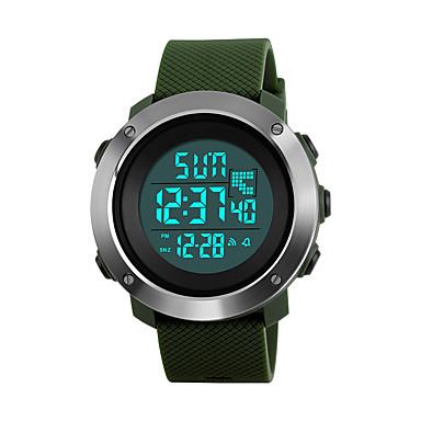 SKMEI Damen digital Digitaluhr / Armbanduhr / Militäruhr / Sportuhr Japanisch Alarm / Kalender / Chronograph / Wasserdicht / Großes