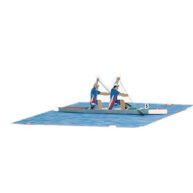Puzzle 3D Modelul de hârtie Lucru Manual Din Hârtie Μοντέλα και κιτ δόμησης Pătrat Navă 3D Reparații Clasic Unisex Cadou