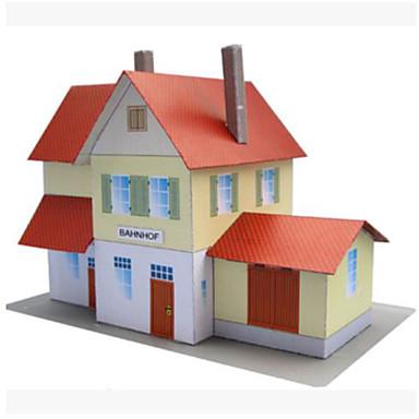 3D - Puzzle Papiermodelle Spielzeuge Quadratisch Berühmte Gebäude Architektur 3D Heimwerken Hartkartonpapier Unisex Stücke