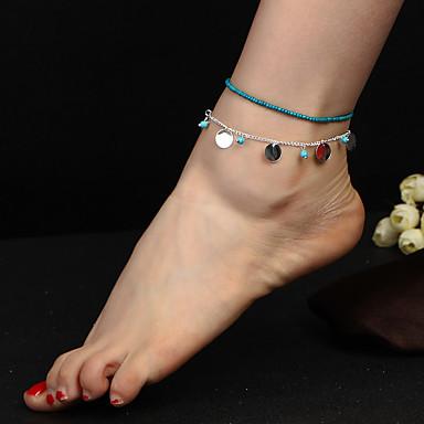 Dames Enkelring  / Armbanden Acryl Legering Bohémien Modieus Enkelring  Sieraden Voor Dagelijks