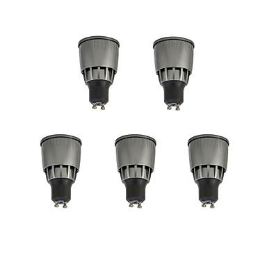 5 Stück 7W 780lm GU10 LED Spot Lampen 1 LED-Perlen COB Dekorativ Warmes Weiß / Kühles Weiß 85-265V