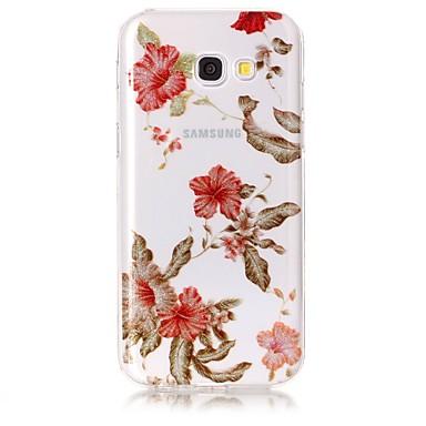 Hülle Für Samsung Galaxy A5(2017) A3(2017) IMD Muster Rückseite Blume Glänzender Schein Weich TPU für A3 (2017) A5 (2017)
