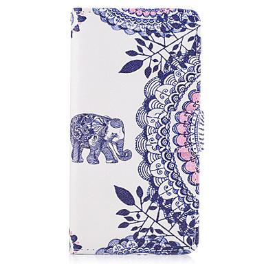 Maska Pentru LG G3 LG LG G5 Titluar Card Portofel Cu Stand Întoarce Carcasă Telefon Mandala Animal Greu PU piele pentru LG G6