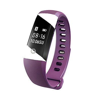 Yya10 erkek bayanlar akıllı bilezik / smarwatch / kalp hızı monitör sm bilekli uyku monitör ios için renk ekranı android telefon