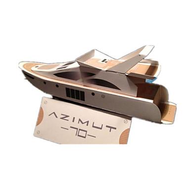 قطع تركيب3D نموذج الورق أشغال الورق مجموعات البناء مربع سفينة 3D محاكاة اصنع بنفسك ورق صلب كلاسيكي للجنسين هدية
