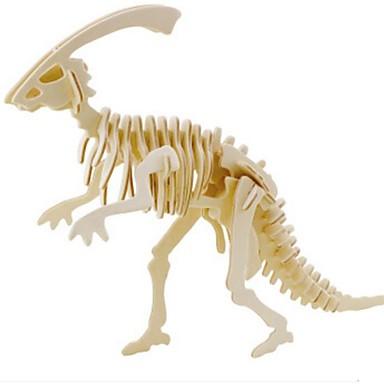 قطع تركيب3D تركيب الخشب نموذج ألعاب حيوان 3D الحيوانات اصنع بنفسك خشب الخشب الطبيعي للجنسين قطع