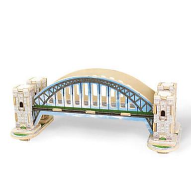 Puzzle 3D Puzzle Modelul lemnului Jucarii Clădire celebru Arhitectură 3D Reparații Lemn Ne Specificat Bucăți