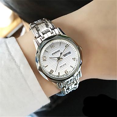 Dames Modieus horloge Kwarts Legering Band Wit