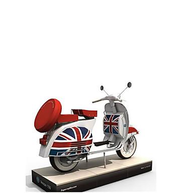 Spielzeug-Autos 3D - Puzzle Papiermodel Spielzeug-Motorräder Papiermodelle Quadratisch Motorrad 3D Heimwerken Simulation Hartkartonpapier