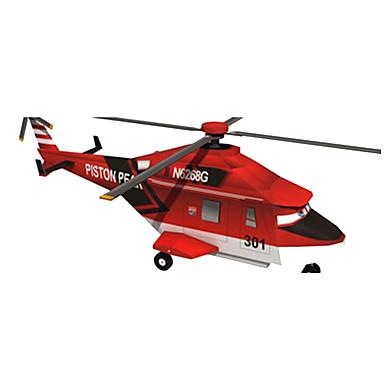 3D-puzzels Bouwplaat Modelbouwsets Papierkunst Vierkant Vliegtuig Helikopter 3D DHZ HardKaart Paper Klassiek Alle leeftijden