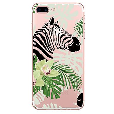 Für Apfel iphone 7 7 plus Fallabdeckung Zebramuster gemaltes hohes penetration tpu materielles weiches Falltelefonkasten für iphone 6s 6