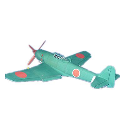 3D - Puzzle Papiermodel Spielzeuge Quadratisch Flugzeug keine Angaben Stücke
