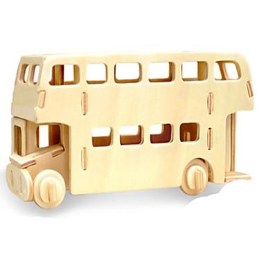 قطع تركيب3D تركيب تركيب معدني الخشب نموذج ألعاب سيارة 3D اصنع بنفسك خشب الخشب الطبيعي غير محدد قطع