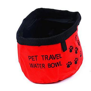 Hond Voerbakken en drinkflessen Huisdieren Kommen & Voeden Rood Blauw
