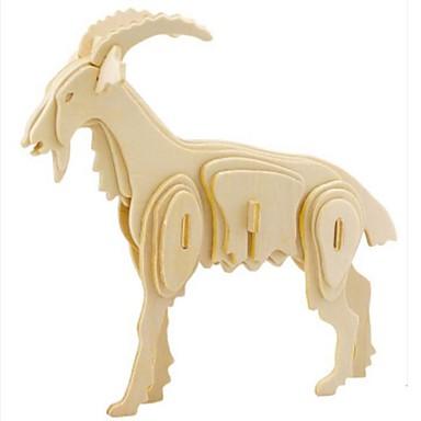3D - Puzzle Holzpuzzle Holzmodelle Tier 3D Tiere Heimwerken Holz Naturholz Unisex Geschenk
