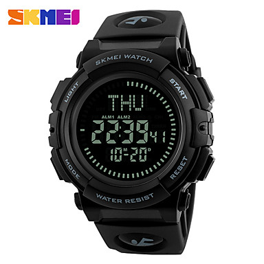 Heren Modieus horloge Polshorloge Digitaal horloge Sporthorloge Dress horloge Smart horloge Chinees Digitaal Kalender Grote wijzerplaat