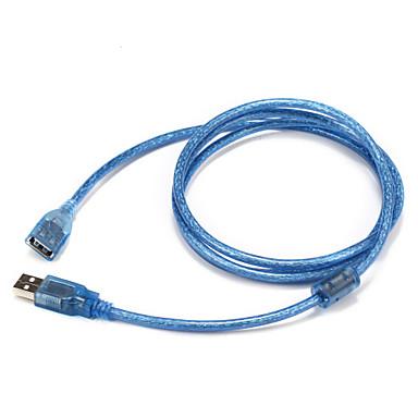 USB 2.0 شاحن, USB 2.0 to USB 2.0 شاحن ذكر - انثى 1.5M (5FT)