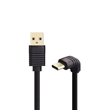 أوسب 3.0 نوع C كابل, أوسب 3.0 نوع C to USB 3.0 كابل ذكر- ذكر 0.5M (1.5Ft)