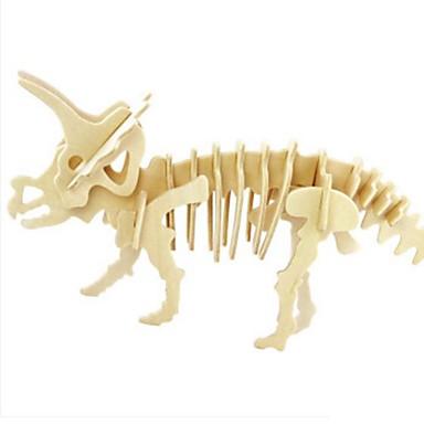 قطع تركيب3D تركيب ألعاب أسد حيوان 3D اصنع بنفسك خشب الخشب الطبيعي للجنسين قطع