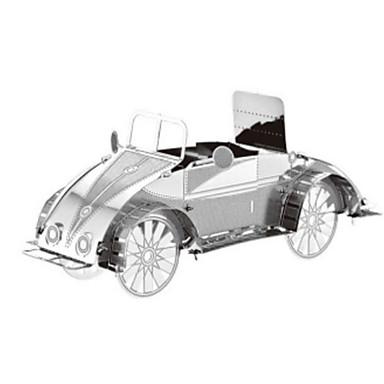 Speelgoedauto's 3D-puzzels Legpuzzel Metalen puzzels Trein Speeltjes Trein Vrachtwagen 3D DHZ Roestvast staal Kromi Metaal Niet