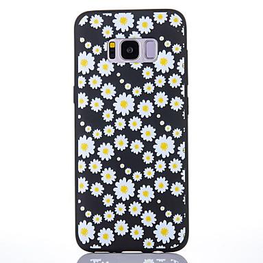 hoesje Voor Samsung Galaxy S8 Plus S8 Mat Patroon Achterkant Bloem Zacht TPU voor S8 Plus S8