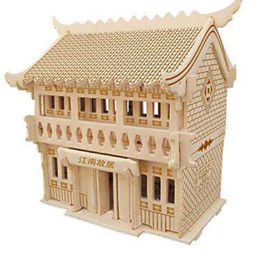 Puzzle 3D Puzzle Μοντέλα και κιτ δόμησης Clădire celebru Arhitectură 3D Reparații Lemn natural Clasic 6 ani și peste