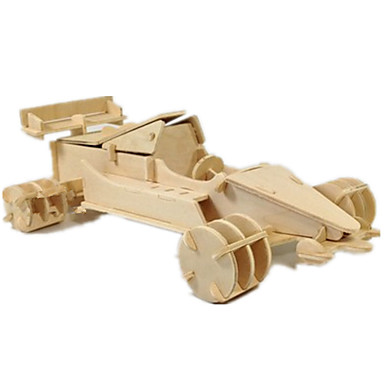 Jucării pentru mașini Puzzle 3D Puzzle Modelul lemnului Jucarii Aeronavă Mașină 3D Reparații Lemn Ne Specificat Unisex Băieți Bucăți
