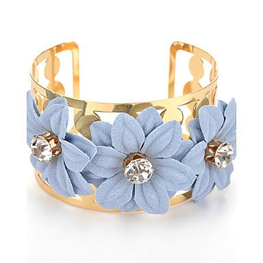 Dames Cuff armbanden Bohemia Style Legering Bloemvorm Sieraden Voor Verjaardag Feest/Uitgaan Dagelijks gebruik