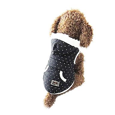 Hond Hoodies Hondenkleding Casual/Dagelijks Stippen Kostuum Voor huisdieren