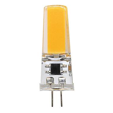 BRELONG® 3W 300lm G4 Becuri LED Bi-pin T 1pcs LED-uri de margele COB Alb Cald Alb 12V