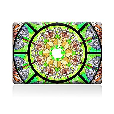 1 stuks Skinsticker voor Krasbestendig Bloem Patroon PVC MacBook Pro 15'' with Retina MacBook Pro 15 '' MacBook Pro 13'' with Retina